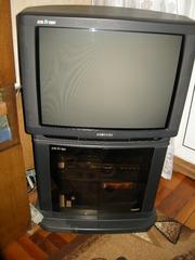 продам телевизор Фирма Samsung с тумбой