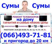 Телемастер, Ремонт телевизора Led, Lcd, Ж-К, плазменных, smart-tv, кинескоп.